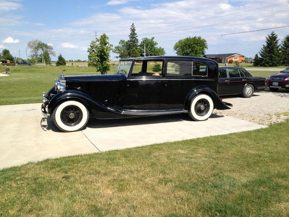 1938 rolls royce phantom iii limousine bramhall classic autos. Black Bedroom Furniture Sets. Home Design Ideas