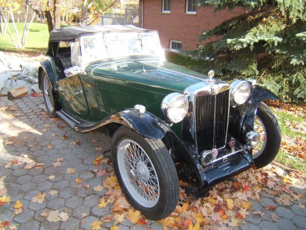 1947 Mg Tc Bramhall Classic Autos
