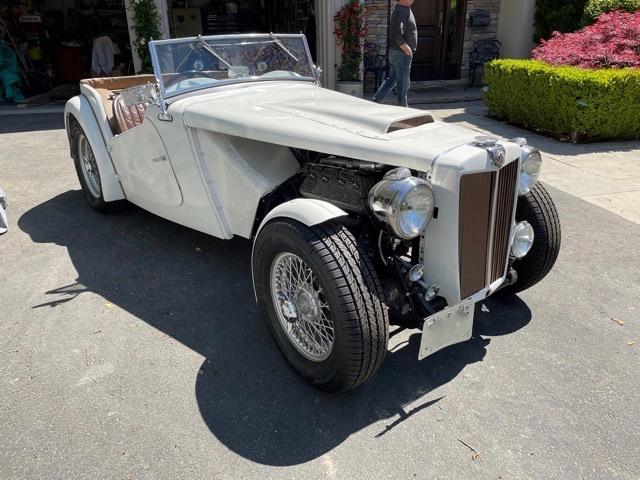 1949 MG TC V60 RHD
