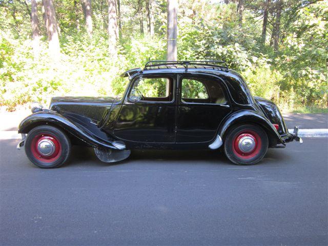 1954 citroen traction avant light 15 rhd bramhall classic autos. Black Bedroom Furniture Sets. Home Design Ideas