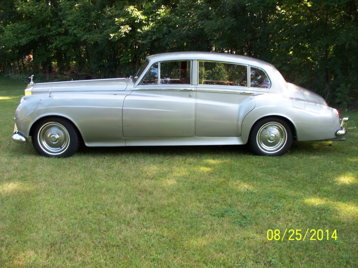 1959 Rolls Royce Silver Cloud Long Wheel Base Lhd