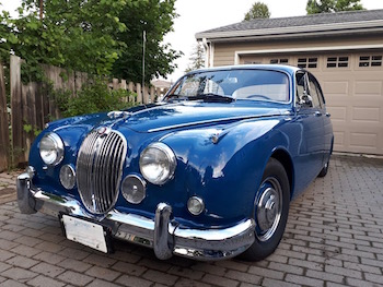 1962 Jaguar MKII 4 Door Sedan