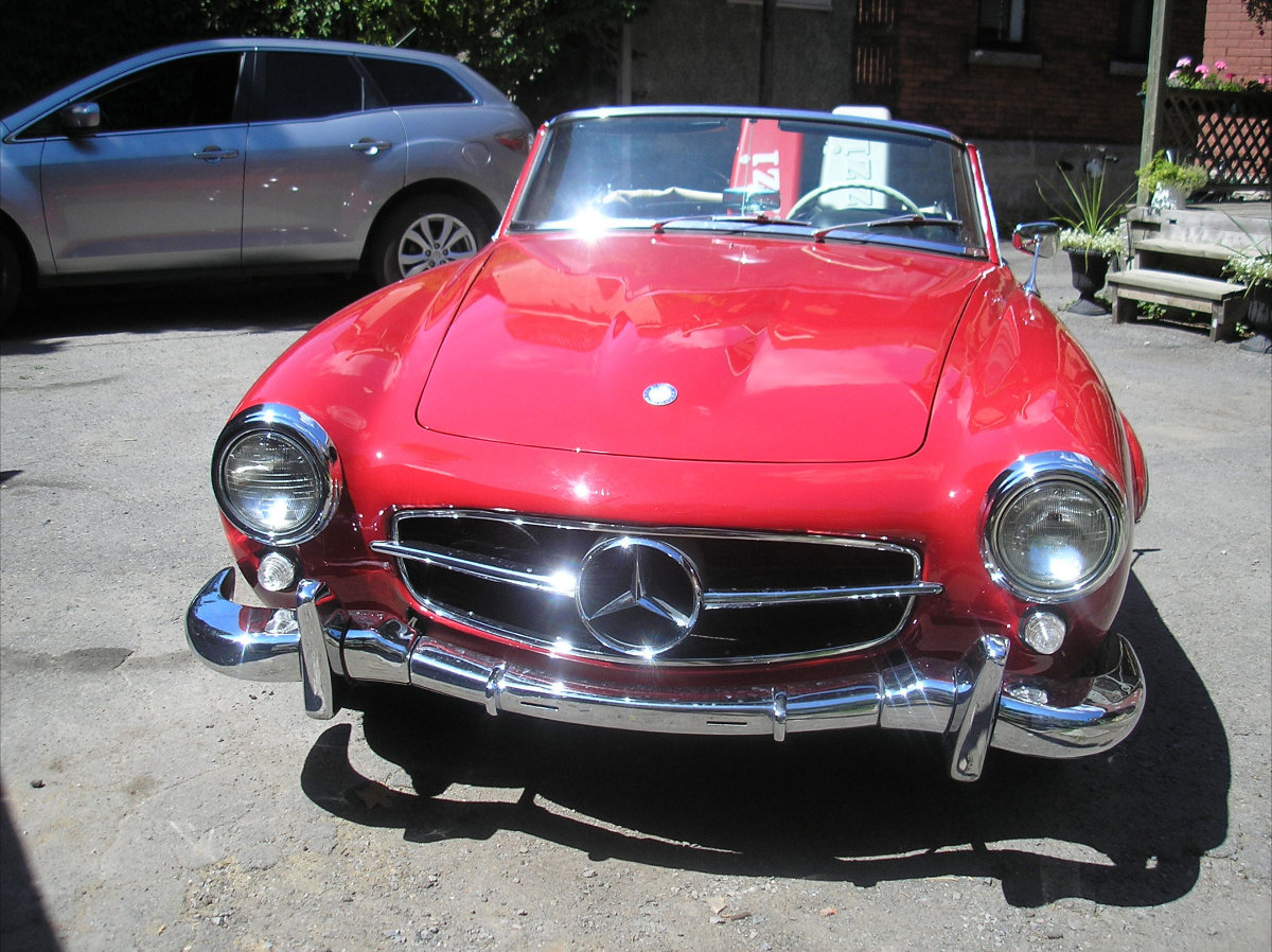 1961 mercedes benz 190sl roadster bramhall classic autos for Mercedes benz 190 sl for sale