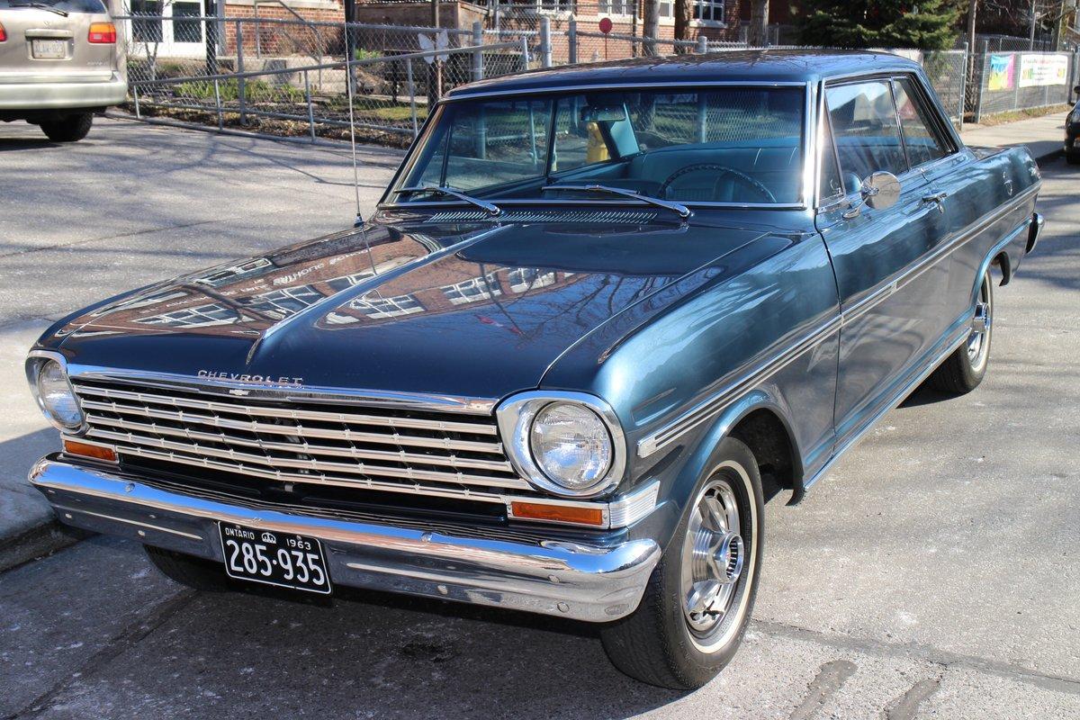 1963 Chevrolet Nova Bramhall Classic Autos