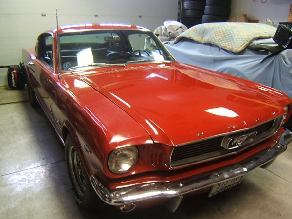 1966 ford mustang fastback k code bramhall classic autos. Black Bedroom Furniture Sets. Home Design Ideas