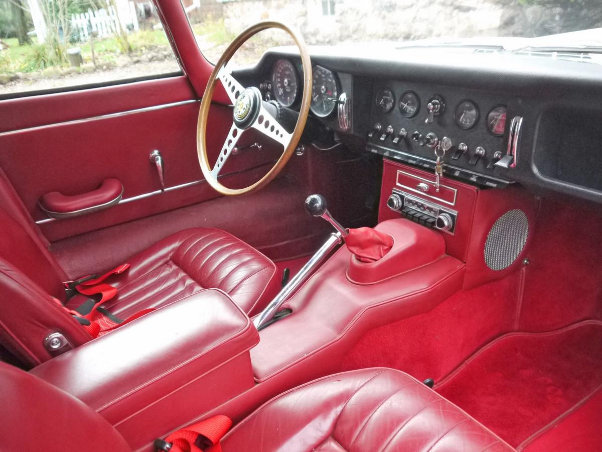 1966 E Type Jaguar Fhc Bramhall Classic Autos