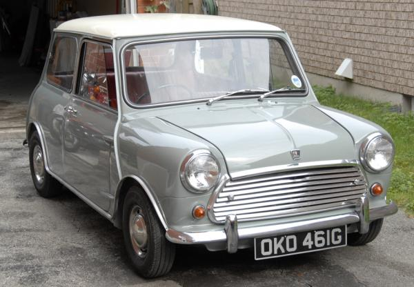 1968 austin mini mk2 cooper 998 bramhall classic autos. Black Bedroom Furniture Sets. Home Design Ideas