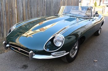 968 Jaguar E Type Roadster BRG