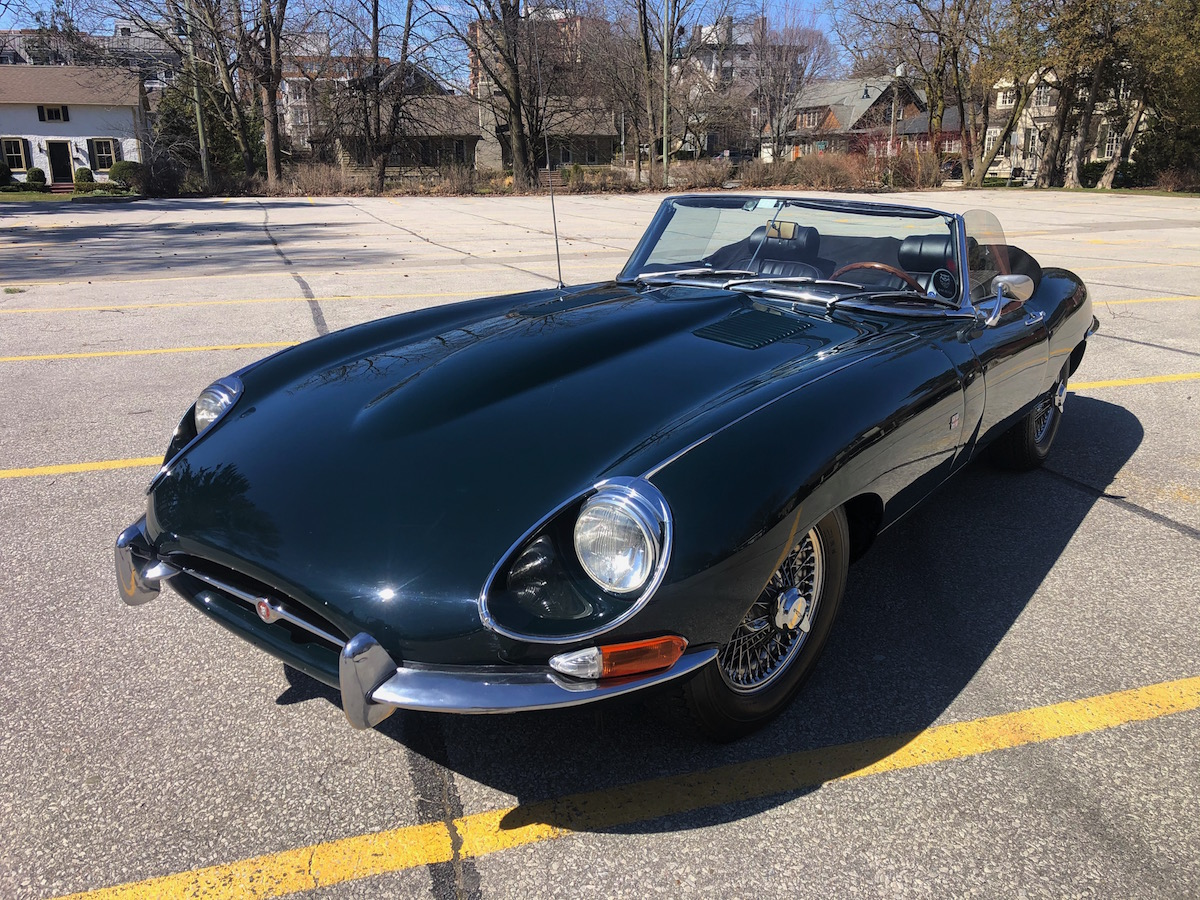 1968 Jaguar E Type Roadster Series 1.5 BRG