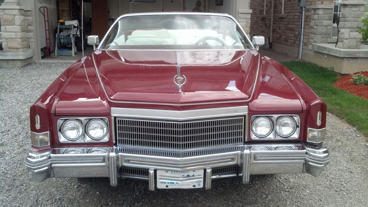 1974 Cadillac Eldorado Convertible Bramhall Classic Autos