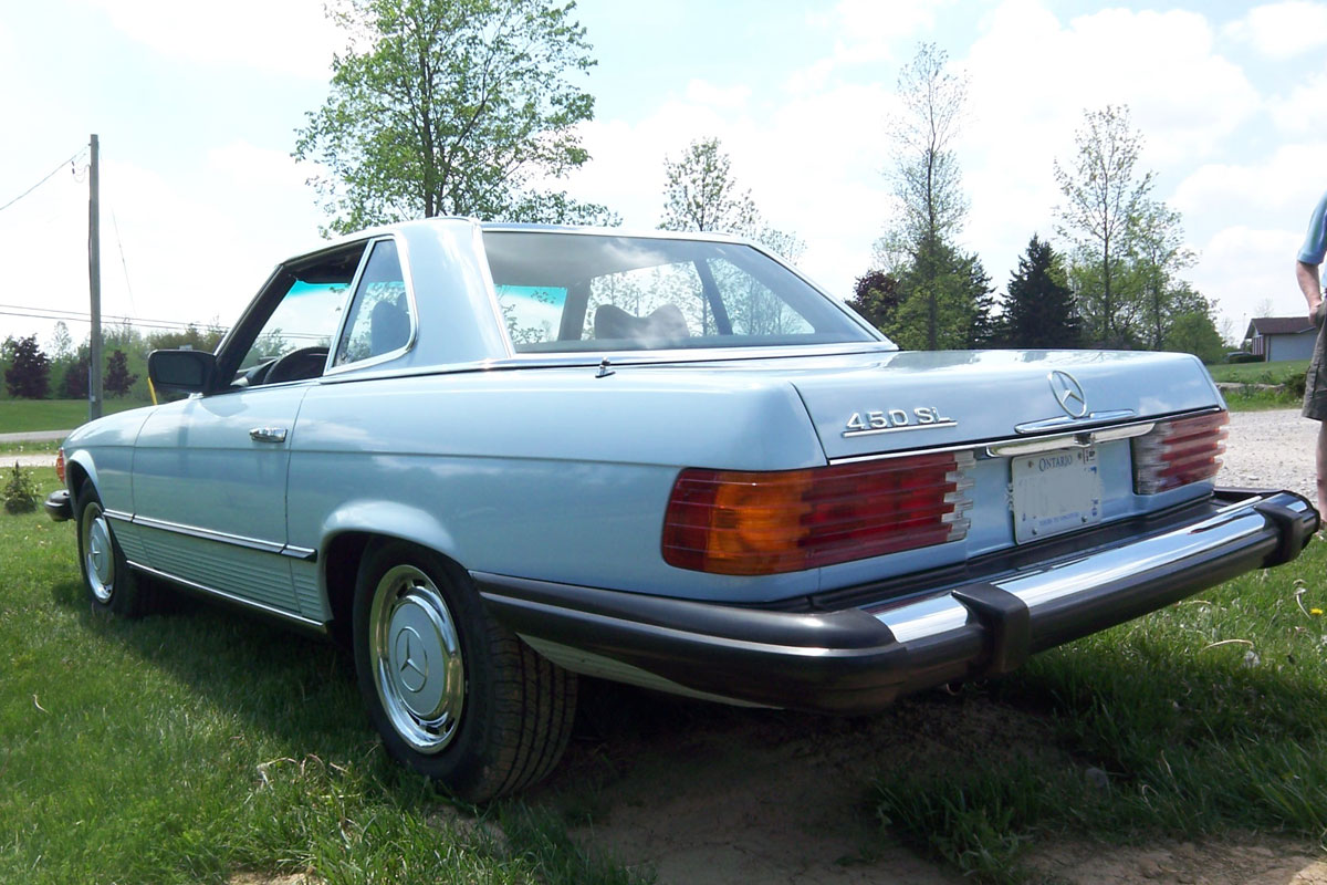 1976 mercedes benz 450 sl bramhall classic autos for Mercedes benz 450