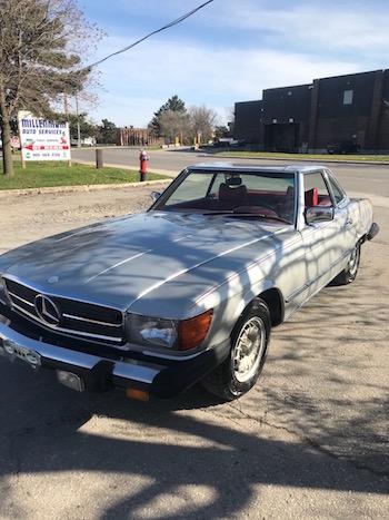 1978 MB 450SL Macdonald