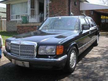 1989 mercedes benz 1000 sel limousine bramhall classic autos. Black Bedroom Furniture Sets. Home Design Ideas