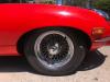 1968 Jaguar E Type Red on 30th St & Lakeshore shoot