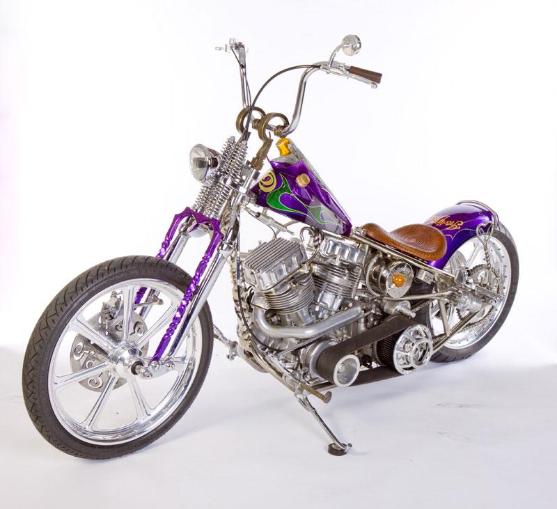 Indian Larry Custom Motorcycle - Bramhall Classic Autos