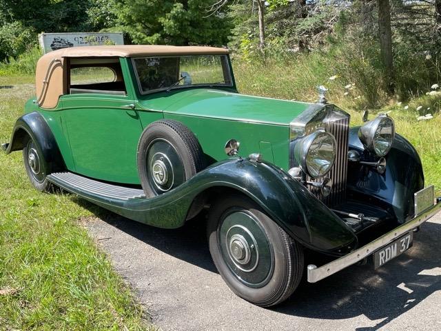 1937 Rolls-Royce Sedanca