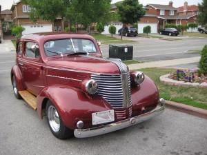 1938 Pontiac 2 Door Sedan