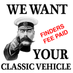 We want your classic car